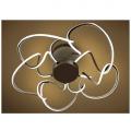 CAMELIA CHROME/OPAL Светильник светодиодный потолочный