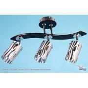36204-4.3-03 CR WG (E14+LED BL) светильник потолочный