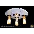 10305/3+1 WT (E27+MR11+LED RBP, ПДУ) Светильник потолочный с ПДУ