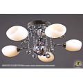 1038/5 HY CR (LED WT+E14+с дист. выкл.) Светильник потолочный с ПДУ