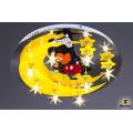 1580/8 (G4+LED WT, ПДУ)   Светильник потолочный с ПДУ